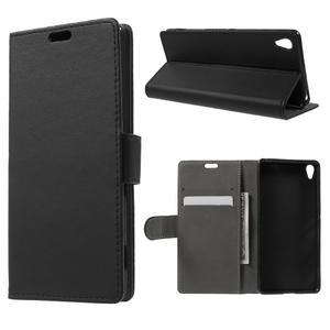 Cardy puzdro pre mobil Sony Xperia XA - čierne - 1