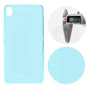 Ultratenký 0.5 mm gelový obal na mobil Sony Xperia XA - světle modrý