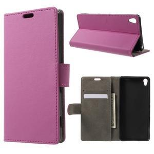 Cardy puzdro pre mobil Sony Xperia XA - rose - 1