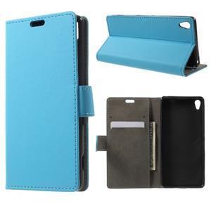 Cardy pouzdro na mobil Sony Xperia XA - modré - 1