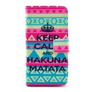 Puzdro na mobil Sony Xperia Z1 Compact - Keep Calm - 1