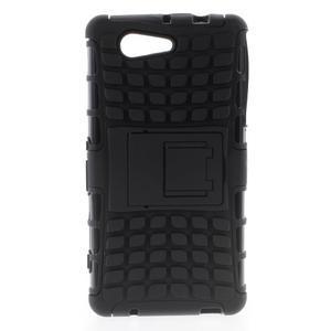 Odolný ochranný kryt pre Sony Xperia Z3 Compact - čierny - 1