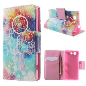 Pictu Peňaženkové puzdro pre Sony Xperia Z3 Compact - dream - 1