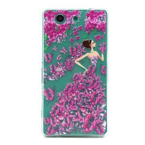 Gelový obal na mobil Sony Xperia Z3 Compact - motýlí dívka - 1