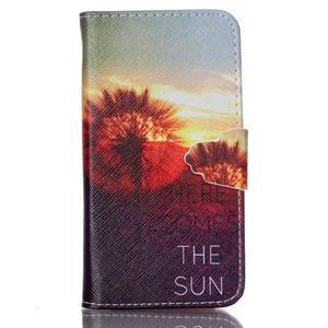Emotive knížkové pouzdro na Sony Xperia Z3 Compact - východ slunce - 1
