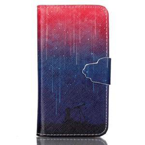 Emotive knížkové puzdro pre Sony Xperia Z3 Compact - meteory - 1