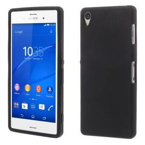 Silikónový obal pre mobil Sony Xperia Z3 - čierny - 1