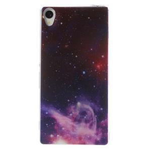 Ultratenký gélový obal pre mobil Sony Xperia Z3 - galaxie - 1