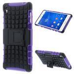 Outdoor ochranný kryt na mobil Sony Xperia Z3 - fialový - 1/7