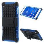 Outdoor ochranný kryt na mobil Sony Xperia Z3 - modrý - 1/7