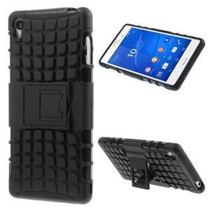 Outdoor ochranný kryt pre mobil Sony Xperia Z3 - čierny - 1