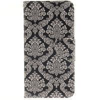 Patt peňaženkové puzdro pre Samsung Galaxy A3 (2016) - kvetinová tapeta - 1/7
