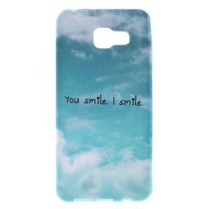 Gélový obal pro Samsung Galaxy A3 (2016) - smile - 1