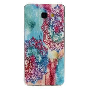 Ultratenký slim obal pre mobil Samsung Galaxy A3 (2016) - farebná mandala - 1