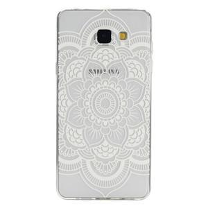 Ultratenký slim obal pre mobil Samsung Galaxy A3 (2016) - bílá mandala - 1