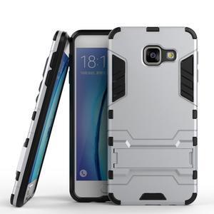 Outdoor odolný kryt pre mobil Samsung Galaxy A3 (2016) - strieborny - 1