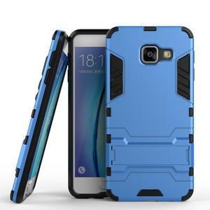 Outdoor odolný kryt pre mobil Samsung Galaxy A3 (2016) - svetlomodrý - 1