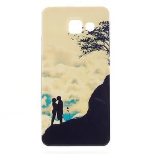 Gélový obal pro Samsung Galaxy A3 (2016) - láska a hory - 1