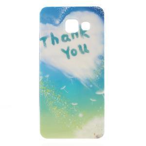 Gelový obal pro Samsung Galaxy A3 (2016) - děkuji - 1