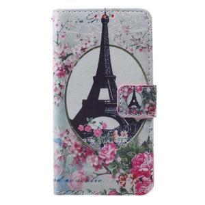Fun peňaženkové puzdro pre Samsung Galaxy A3 (2016) - Eiffelova veža - 1