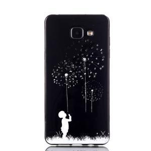 Style gelový obal na mobil Samsung Galaxy A3 (2016) - chlapeček - 1