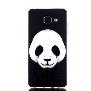 Style gélový obal pre mobil Samsung Galaxy A3 (2016) - panda - 1