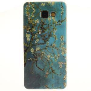 Silk gélový kryt pre mobil Samsung Galaxy A3 (2016) - rozkvetlý strom - 1
