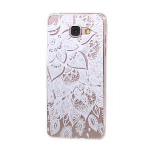Miffs ultratenký gélový obal pre Samsung Galaxy A3 (2016) - lotus - 1