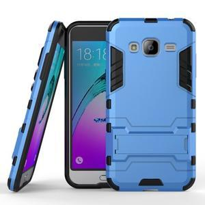 Outdoor odolný obal na Samsung Galaxy J3 - světlemodré - 1