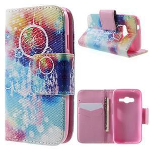 Peňaženkové puzdro pre Samsung Galaxy Trend 2 Lite - dream - 1