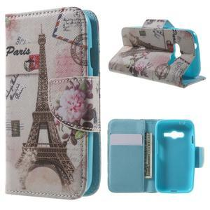 Motive pouzdro na mobil Samsung Galaxy Trend 2 Lite - Paris - 1