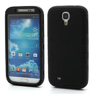 Extreme odolný gélový obal 2v1 pre Samsung Galaxy S4 - čierný - 1