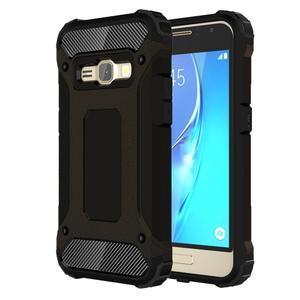 Armory odolný obal pre mobil Samsung Galaxy J1 (2016) - čierný - 1