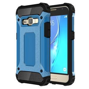 Armory odolný obal na mobil Samsung Galaxy J1 (2016) - modrý - 1