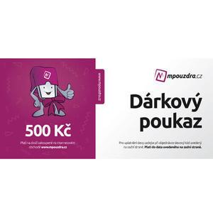 Darčekový poukaz na nákup v hodnote 500 Kč
