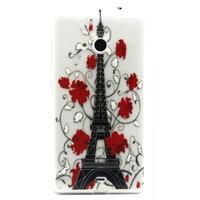 Gélový obal na mobil Microsoft Lumia 535 - Eiffelova veža - 1/3