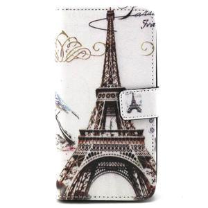 Peneženkové puzdro na mobil LG G4c - Eiffelova veža - 1