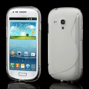 Transparentní gélové puzdro pre Samsung Galaxy S3 mini /i8190 - 1