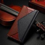 Breck peňaženkové puzdro na Samsung Galaxy S6 - hnedé/čierné - 1/7