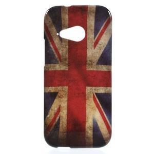Gélový kryt pre HTC One mini 2 - UK vlajka - 1