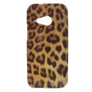 Gélový kryt na HTC One mini 2 - leopard - 1