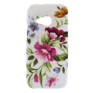 Gélový kryt pre HTC One mini 2 - kvetiny - 1