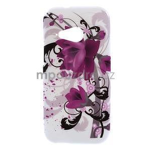 Gélový kryt pre HTC One mini 2 - lotusový kvet - 1