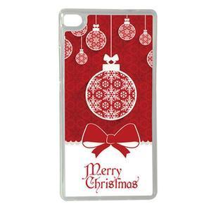 Vianočné edice gélových obalov na Huawei Ascend P8 - Vesalé Vianoce - 1