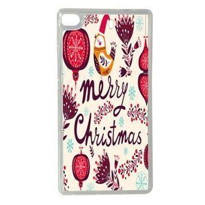 Vánoční edice gélových obalů na Huawei Ascend P8 - Merry Christmas - 1