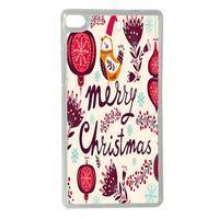 Vánoční edice gélových obalů na Huawei Ascend P8 - Merry Christmas - 1/2