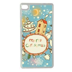Vánoční edice gélových obalů na Huawei Ascend P8 - Christmas - 1
