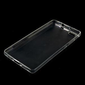 Transparentné ultra tenký slim obal na Huawei Ascend P8 Lite - 1