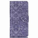 Puzdro na mobil Huawei P8 Lite - textury květin - 1/7