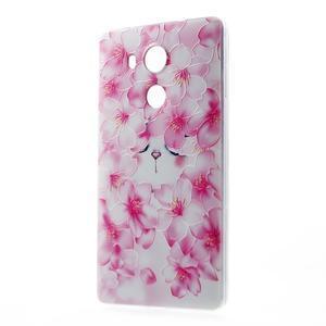 Softy gelový obal na mobil Huawei Mate 8 - kvetoucí švestka - 1